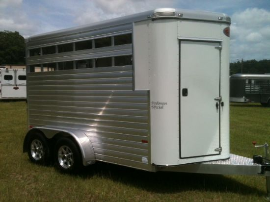 2015 Sundowner Charter  2 Horse Straight Load Bumperpull Rental Trailer