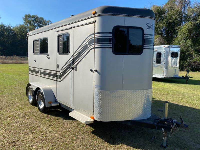 2004 Trailet   2 Horse Straight Load Bumperpull Horse Trailer SOLD!!!