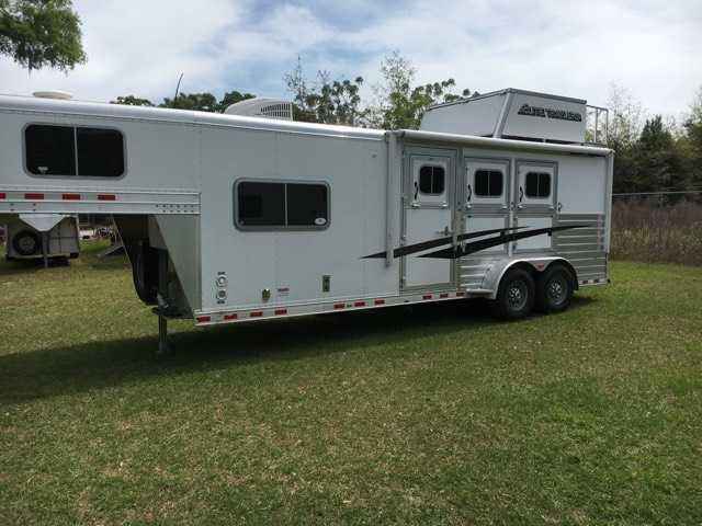 2015 Elite   3 Horse Horse Trailer With Living Quarters SOLD!!!