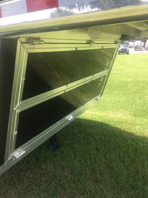 2015 Hart 8' tall and 8' wide  2 Horse Slant Load Gooseneck Horse Trailer With Living Quarters