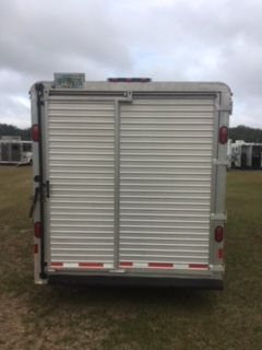 2001 Jamco   2 Horse Straight Load Gooseneck Horse Trailer