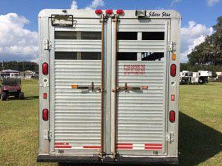1997 Silverstar   4 Horse Gooseneck Horse Trailer