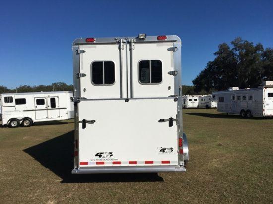 2019 4 Star   4 Horse Gooseneck Horse Trailer
