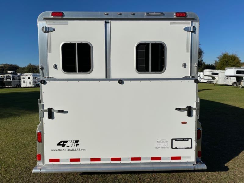 2018 4 Star   2 Horse Slant Load Gooseneck Horse Trailer SOLD!!!