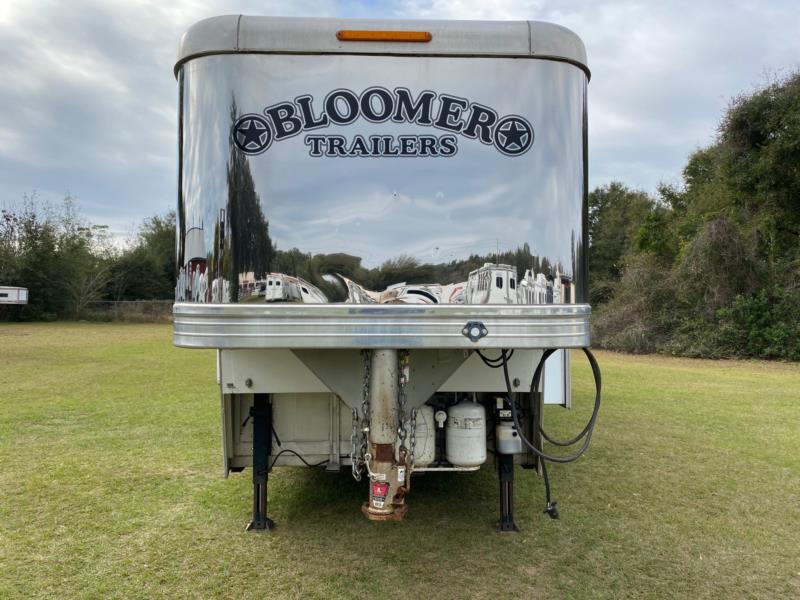 2011 Bloomer Reverse Load  4 Horse Gooseneck Horse Trailer With Living Quarters SOLD!!!