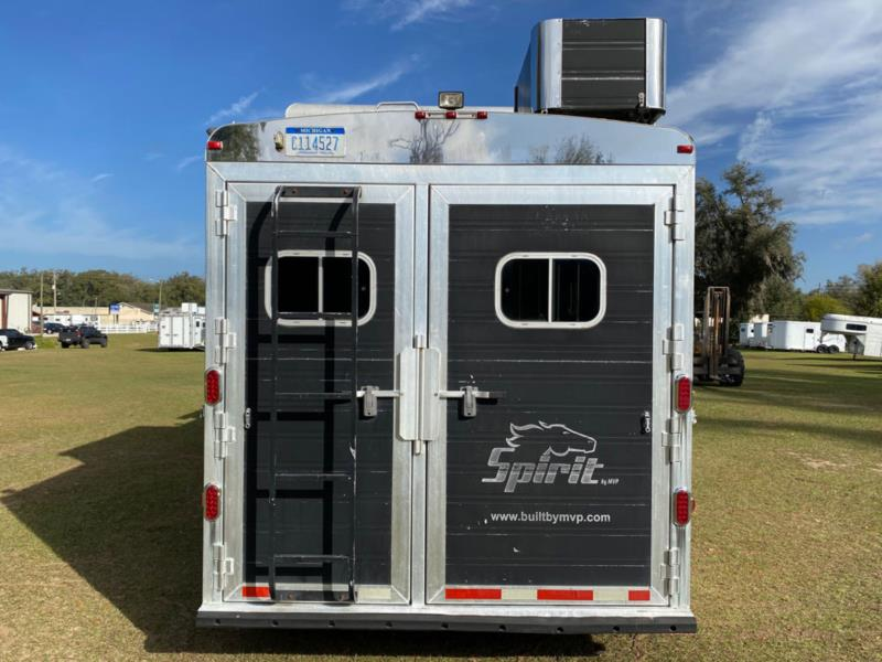 2008 Spirit by MVP   4 Horse Gooseneck Horse Trailer With Living Quarters SOLD!!!