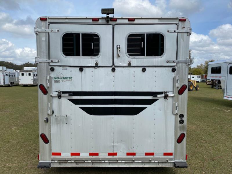 2000 Sooner Head to Head  6 Horse Gooseneck Horse Trailer SOLD!!!