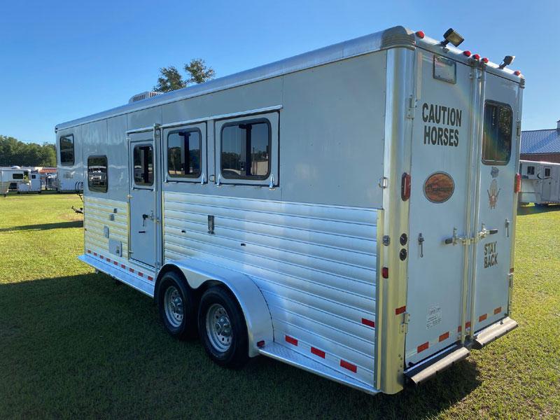 2010 Sundowner 6906  3 Horse Slant Load Gooseneck Horse Trailer With Living Quarters SOLD!!!