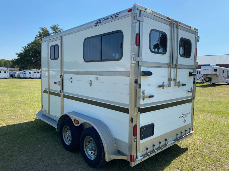 2008 Jamco   2 Horse Straight Load Bumperpull Horse Trailer SOLD!!!
