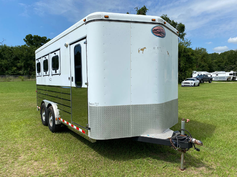 2007 Sundowner   3 Horse Slant Load Bumperpull Horse Trailer SOLD!!!
