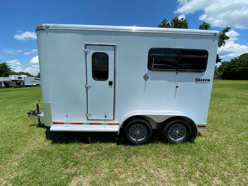 2011 Shadow   2 Horse Straight Load Bumperpull Horse Trailer SOLD!!!