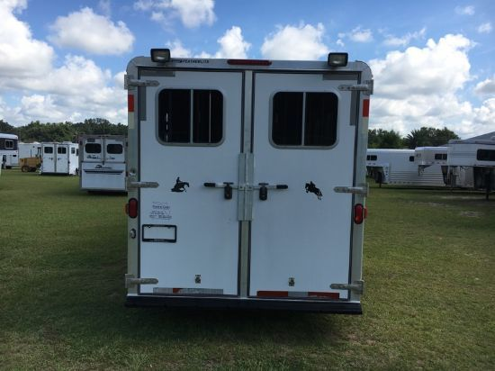 2003 Featherlite Large Dressing Room  4 Horse Slant Load Gooseneck Horse Trailer SOLD!!!