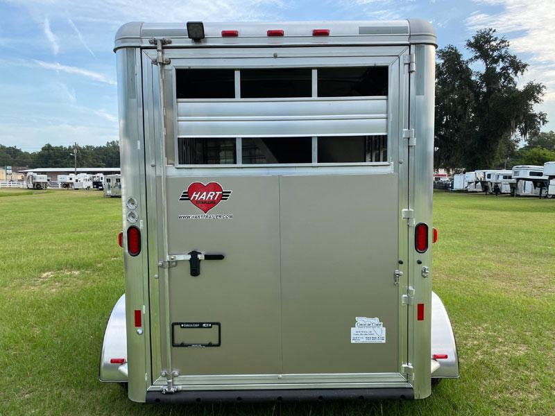 2021 Hart Stock Combo  2 Horse Bumperpull Horse Trailer