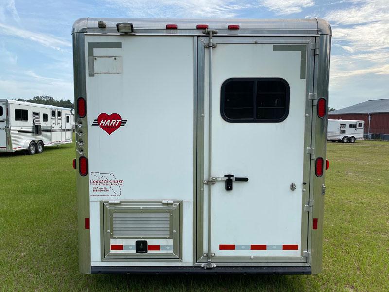 2005 Hart 13' Outlaw Conversion  3 Horse Slant Load Gooseneck Horse Trailer With Living Quarters SOLD!!!