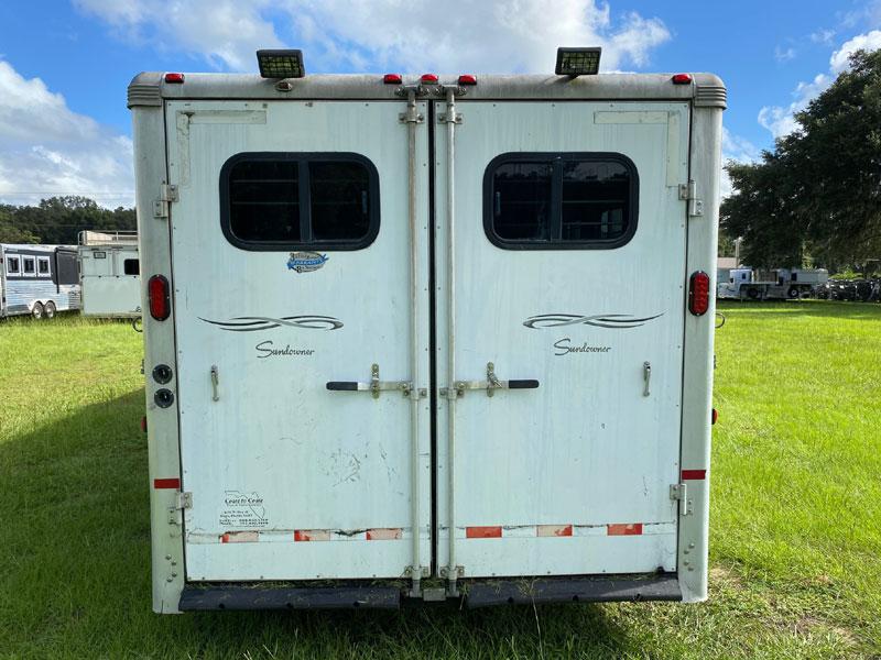 2005 Sundowner   4 Horse Slant Load Gooseneck Horse Trailer With Living Quarters SOLD!!!