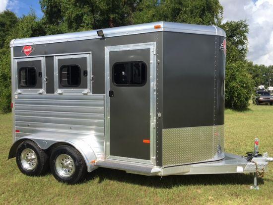 2018 Hart Medallion  2 Horse Slant Load Bumperpull Horse Trailer