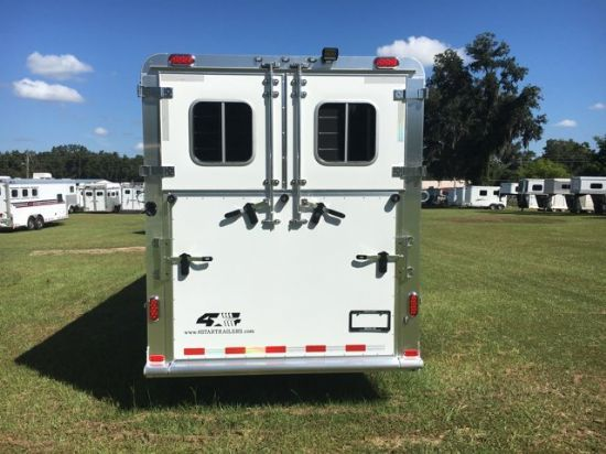 2019 Fourstar 2+1 Runabout  2 Horse Straight Load Gooseneck Horse Trailer