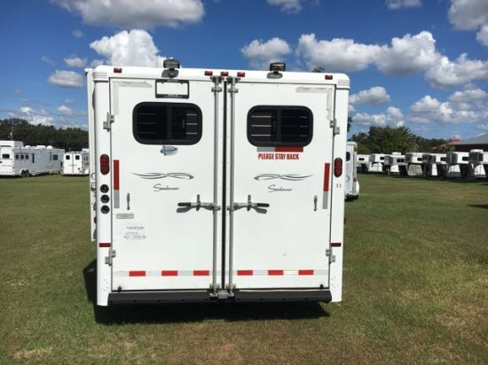 2005 Sundowner 10' shortwall  4 Horse Slant Load Gooseneck Horse Trailer With Living Quarters