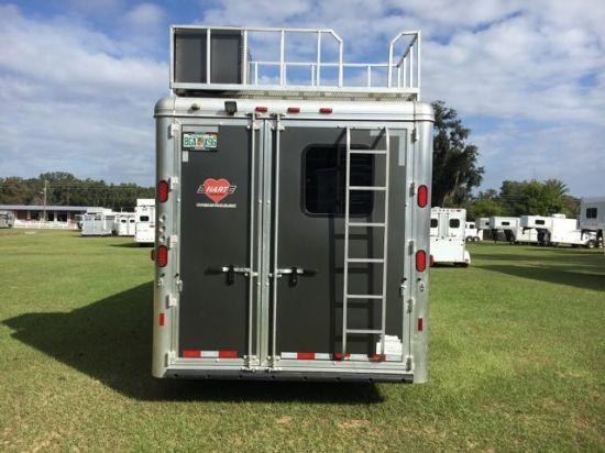 2017 Hart Trail Boss Conversion  3 Horse Slant Load Gooseneck Horse Trailer With Living Quarters