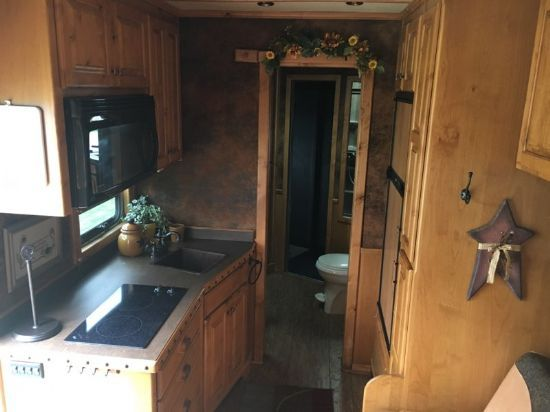 2009 4 Star with 15' LA  4 Horse Gooseneck Horse Trailer With Living Quarters SOLD!!!