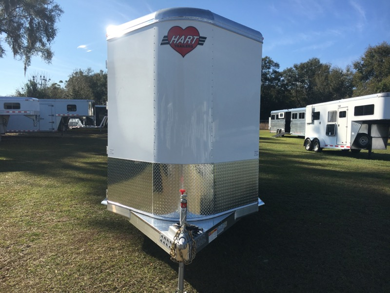 2019 Hart   2 Horse Straight Load Bumperpull Horse Trailer