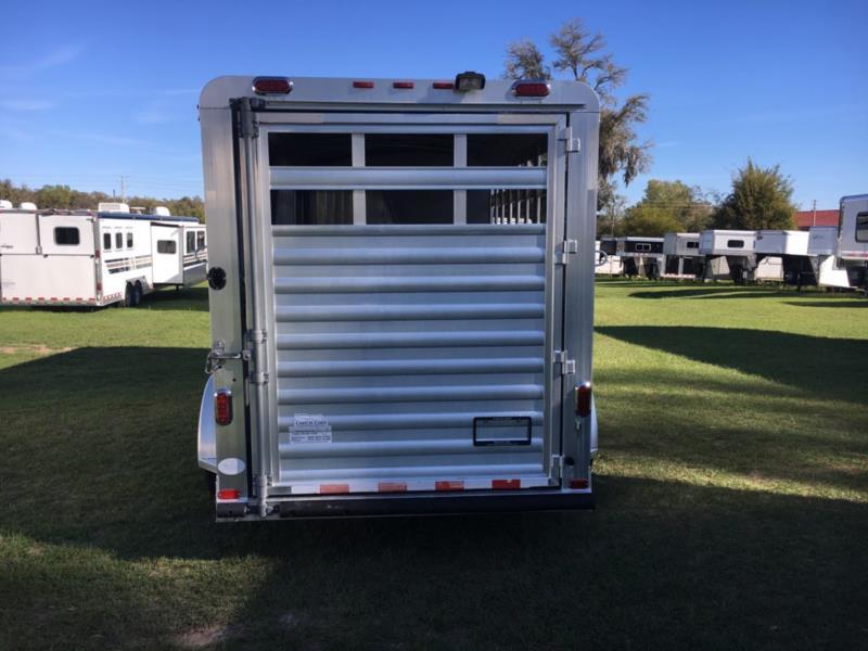 2008 4 Star Combo  3 Horse Slant Load Gooseneck Horse Trailer