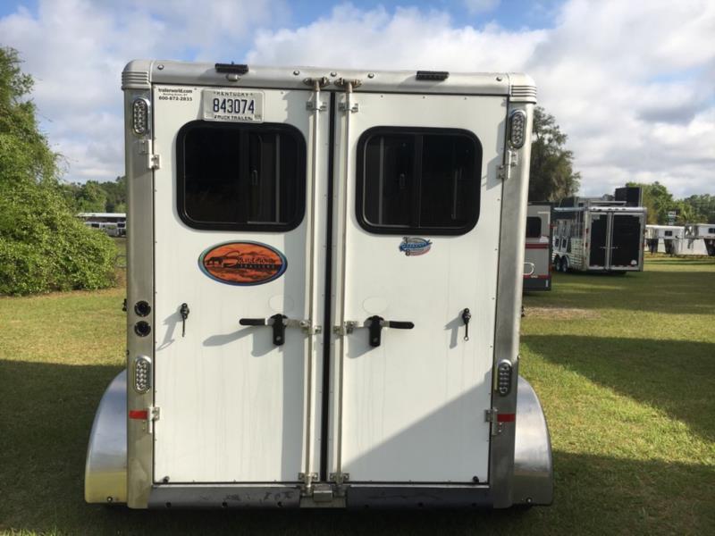 2018 Sundowner   2 Horse Slant Load Bumperpull Horse Trailer