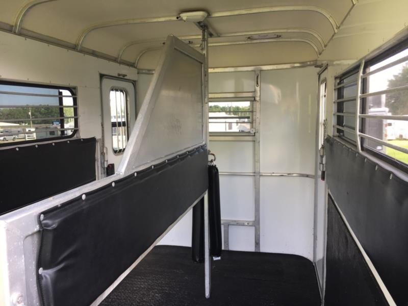 2005 Gore Extra Tall  2 Horse Straight Load Bumperpull Horse Trailer