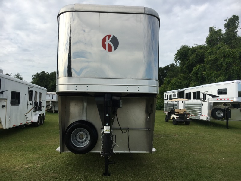 2017 Kiefer Built 2+1  2 Horse Gooseneck Horse Trailer SOLD!!!