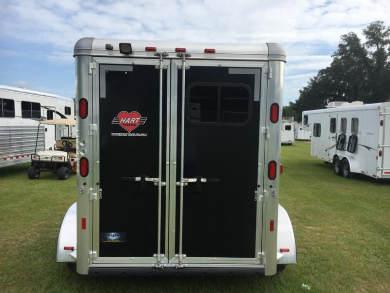 2016 Hart   2 Horse Slant Load Bumperpull Horse Trailer