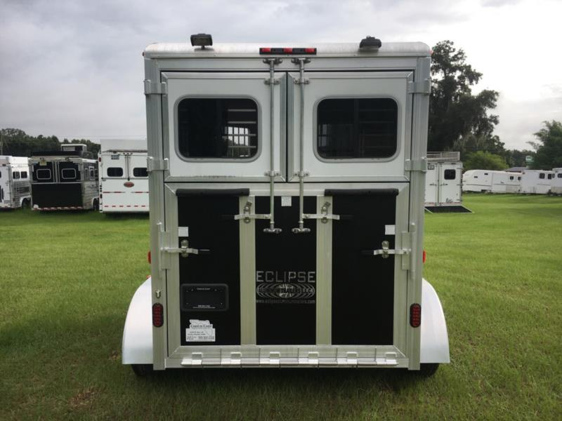 2014 Eclipse   2 Horse Straight Load Bumperpull Horse Trailer SOLD!!!