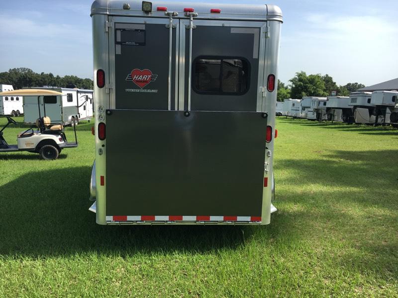2017 Hart   3 Horse Slant Load Bumperpull Horse Trailer SOLD!!!