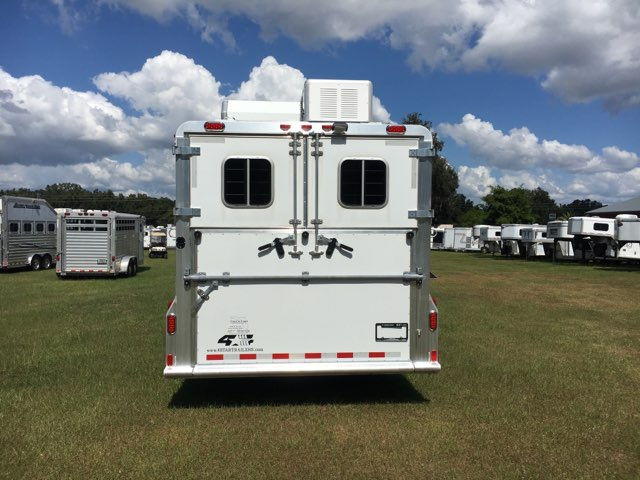 2015 4 Star   2 Horse Horse Trailer With Living Quarters SOLD!!!