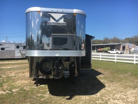 2020 Merhow 16' with Slide  3 Horse Slant Load Gooseneck Horse Trailer With Living Quarters SOLD!!!