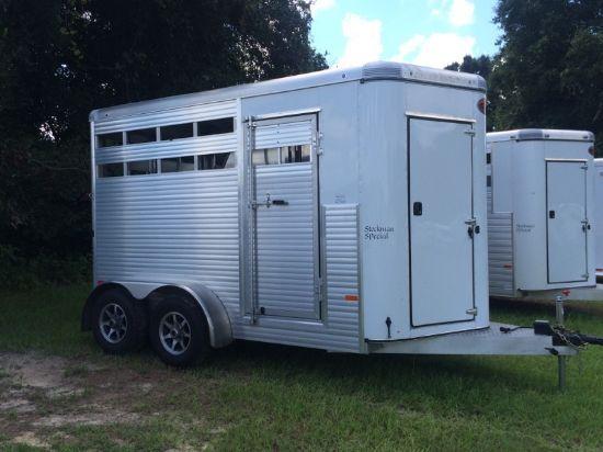 2016 Sundowner Stock  2 Horse Straight Load Bumperpull Rental Trailer