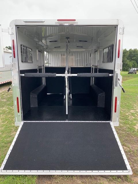 2021 Adam 10' Gunslinger Conversion  2 Horse Straight Load Gooseneck Horse Trailer With Living Quarters