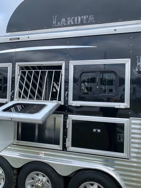 2020 Lakota Bighorn  4 Horse Slant Load Gooseneck Horse Trailer With Living Quarters SOLD!!!